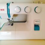 Mi máquina de coser Alfa next 40