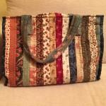 Bolso de costura en patchwork
