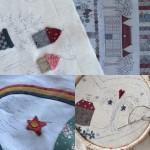 Varios proyectos de patchwork a la vez