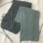 Tejer una bufanda
