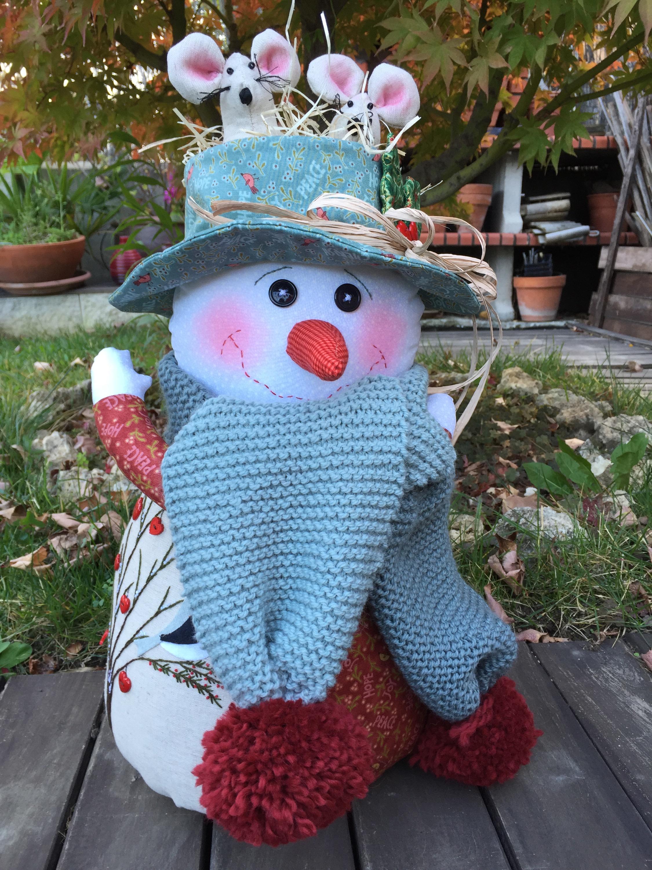 Navidad en patchwork: muñeco de nieve - LA VIDA EN PATCHWORKLA VIDA ...