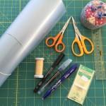 Sal Quilt Dear Jane: materiales básicos para empezar