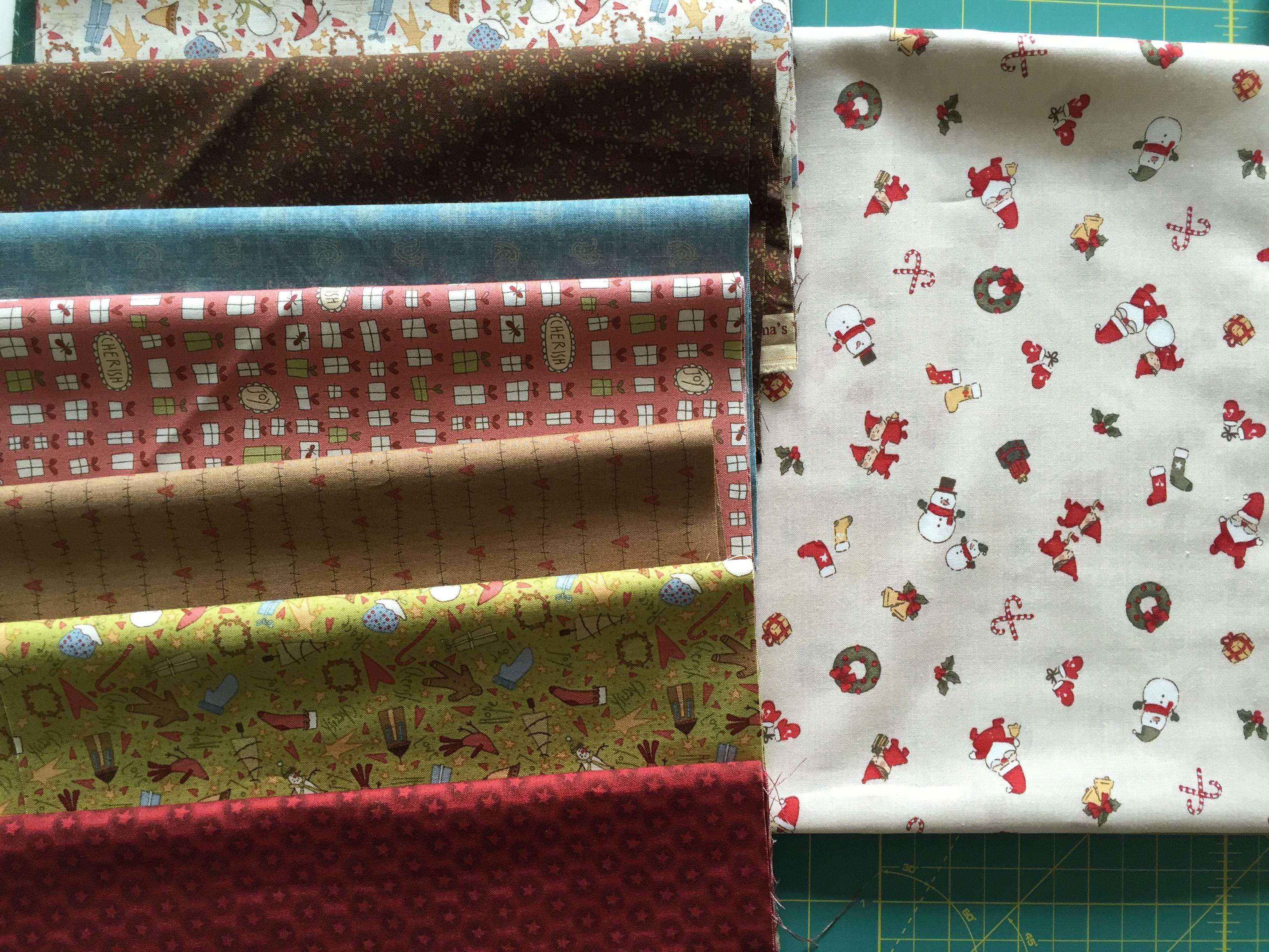 Patchwork en navidad las telas la vida en patchworkla - Adornos de navidad de tela ...