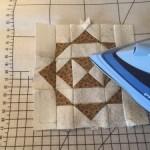 Cómo planchar un bloque de Patchwork