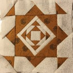 Tutorial bloque patchwork quilt Dear Jane A-9