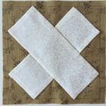 Patchwork tutorial a-8 quilt Dear Jane