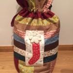 Patchwork Navidad, saco de regalos