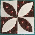 Bloque patchwork a-7, quilt Dear Jane