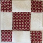 Bloque Patchwork quilt Dear Jane a-6