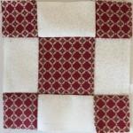 Bloque Patchwork quilt Dear Jane a-6