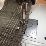 máquina de coser margen de costura
