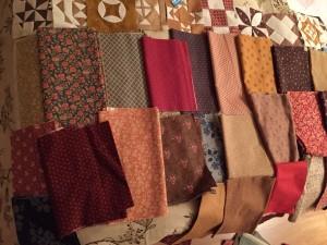 Telas patchwork quilt Dear Jane