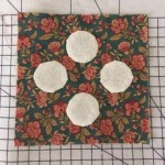 Quilt Dear Jane, bloque B-1