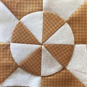 Técnica patchwork plato dresden
