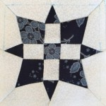 Tutorial bloque patchwork A-13 quilt Dear Jane