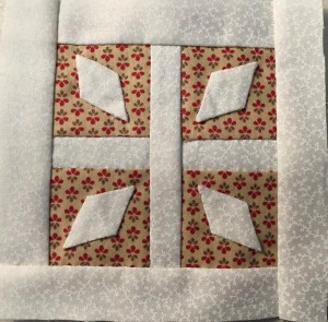 bloque B-5 quilt Dear Jane