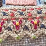 Bordar una puntilla en tus trabajos de patchwork