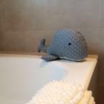 Muñeco de patchwork: ballena Tilda