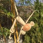 Patchwork muñeco: mono de Tilda