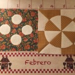Proyectos de patchwork de Febrero