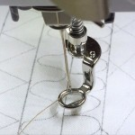 Máquina de coser, prensatelas número 9 Bernina
