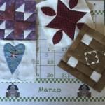 Marzo en puntadas de patchwork