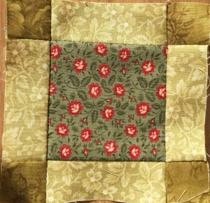 quilt Dear Jane, bloque B-13
