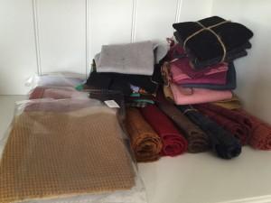 telas lana patchwork