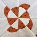 Bloque C-5 patchwork quilt Dear Jane