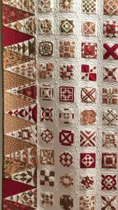 acolchado a máquina coser quilt