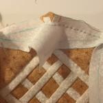 Costura en U patchwork