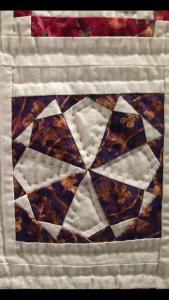cómo acolchar quilt Dear Jane