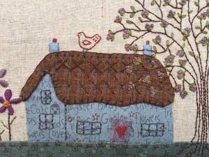 bordado a mano patchwork Lynette Anderson