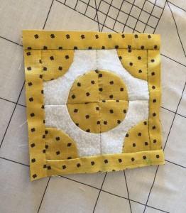 quilt Dear Jane C-11 patchwork