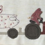 Bloque patchwork 3 Anderson´s Farm Joy Ride