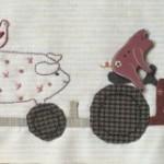 Bloque patchwork 3 Anderson´s Farm Joy Ride