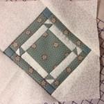Bloque C-13 quilt Dear Jane