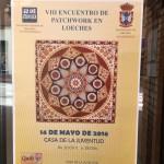 Exposición patchwork Loeches 2016