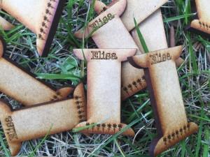 colocar hilos de bordar