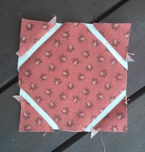 quilt Dear Jane d-6 challenge