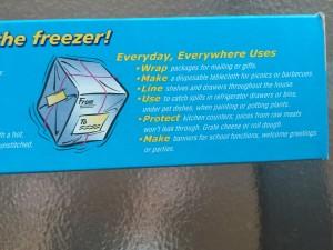 Freezer paper crafts