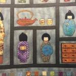 Quilt patchwork japonés kokhesis