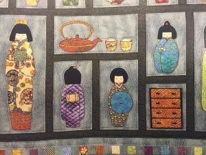 quilt poupees japonaises