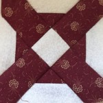 Bloque patchwork quilt Dear Jane D-7