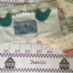 Junio en Patchwork y bordado