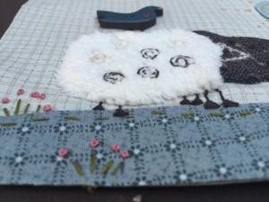quilt patchwork granja