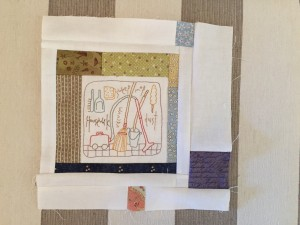 Anni Downs colcha patchwork