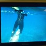 Snorkel en Illes Medes para una quilter