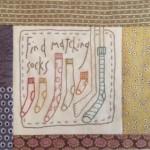 Quilt Anni Downs bordado y patchwork 8