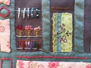 Martine apaolaza patchwork y bordado